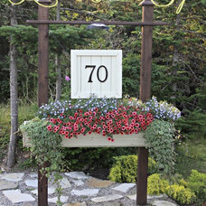 Traditional Outdoor Products DIY House Number Sign