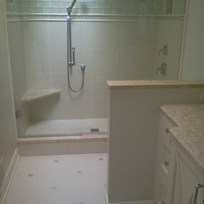 Contemporary Wall And Floor Tile by Tile & Designs, Inc
