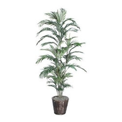 6 ft. Areca Palm Deluxe Tree - About VickermanThis product is proudly made by Vickerman, a leader in high quality holiday decor. Founded in 1940, the Vickerman Company has established itself as an innovative company dedicated to exceeding the expectations of their customers. With a wide variety of remarkably realistic looking foliage, greenery and beautiful trees, Vickerman is a name you can trust for helping you create beloved holiday memories year after year.