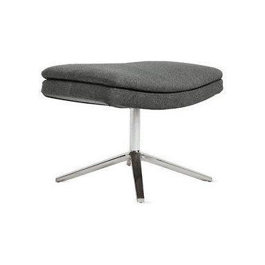 Metropolitan Ottoman - The only way to make a Metropolitan Chair even more comfortable? Add the matching ottoman.