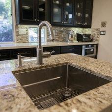Mediterranean Kitchen Sinks by Kitchens Etc. of Ventura County