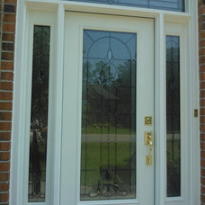 Traditional Entry by Precision Door Service of Hampton Roads