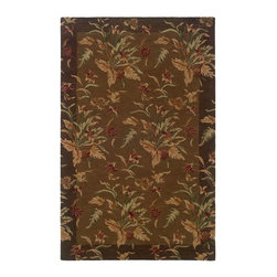 """Oriental Weavers - Transitional Windsor Hallway Runner 2'3""""x8' Runner Tan-Brown Area Rug - The Windsor area rug Collection offers an affordable assortment of Transitional stylings. Windsor features a blend of natural Tan-Brown color. Handmade of Wool the Windsor Collection is an intriguing compliment to any decor."""