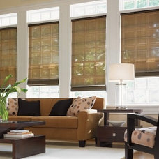 Contemporary Window Treatments by Phelps Enterprises