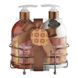Spiced Cake Soap & Lotion Caddy - How about a spiced cake soap and lotion caddy? This has to smell absolutely terrific.