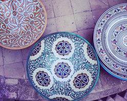 tabletop - MOROCCAN SERVING PLATES