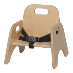 """Steffywood - Steffywood 5"""" Kids Classroom Playroom School Stackable Chair With Strap - Our stackable toddler chair is constructed of all birch panels.  Dado construction with glue and screws.  Handle cutouts and strap."""