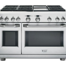 contemporary gas ranges and electric ranges by Kitchen Tradition