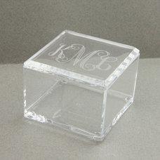 Contemporary Decorative Boxes by themonogrammedmartini.com
