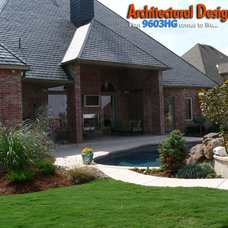 Traditional Exterior by Architectural Designs