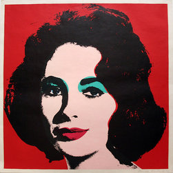 Hand-Signed 'Liz FS II.7' Offset Lithograph by Andy Warhol - ANDY WARHOL RARE FABULOUS BEAUTIFUL OFFSET LITHOGRAPH. Hand signed and dated. Printer: Total Color, New York. Publisher: Leo Castelli Gallery, New York. Artwork is in excellent condition. Certificate of Authenticity included.
