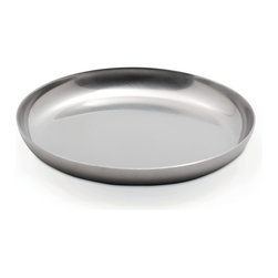 Mono - Ellipse Collection Strainer Caddy For 43 oz. Teapot - Loose-leaf tea properly infused and hot tea ready to pour? Perfect. Now set your strainer atop this handy dish crafted of handsome stainless steel, and don't give it another thought. Unless, of course, you think you'd like more tea later.