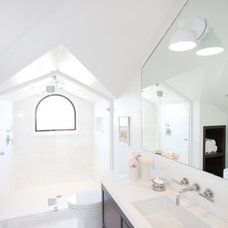 Traditional Bathroom by Marsh and Clark Design