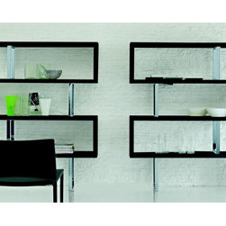 Trafalgar Bookcase By Tonin Casa - Full of visual intensity, refined materials, and a fascinating silhouette, the Trafalgar Designer Shelving Unit will help create a sense of balanced stylistic proportions and a comfortable living atmosphere. Manufactured in Italy by Tonin Casa, Trafalgar Modern Bookcase is a useful solution that addresses storage and display requirements from an aesthetic and functional point of view.