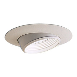"Nora Lighting - Nora NTM-39 6"" BR/PAR30 Eyeball with White Baffle - 6"" BR/PAR30 Eyeball with White Baffle"