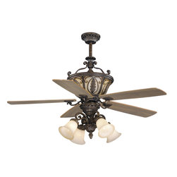 "Vaxcel - Dynasty Forum Patina 56"" Ceiling Fan - Vaxcel FN56312FP Dynasty Forum Patina 56"" Ceiling Fan"