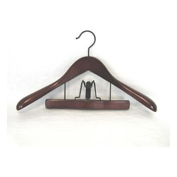 Proman - Proman Taurus Suit Hanger with Trouser Clamp - 12 Pieces - TRF8834 - Shop for Clothing Hangers from Hayneedle.com! About Proman ProductsFounded in 2002 in Rockford Illinois Proman Products took to their calling to promote and distribute products made in their factory based in Southern China as well as items made by their associated factories. Proman Products is proud of their prompt and effective shipping process to customers anywhere in the continental U.S. Their design team also works directly with their customers to provide custom designed and engineered products to meet all expectations.
