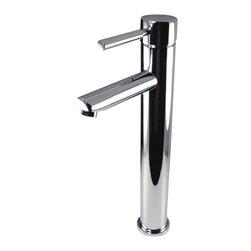 Fresca - Fresca FFT1044CH Tolerus Single Hole Vessel Mount Bathroom Vanity Faucet - CH - Fresca FFT1044CH Tolerus Single Hole Vessel Mount Bathroom Vanity Faucet - Chrome