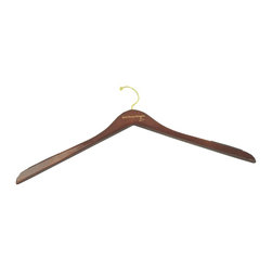 """Well Hung Hangers- Sold in sets of three - Well Hung Hangers for men are available in 17"""" standard and 22"""" big and tall.  Keeps clothing in alignment and helps to eliminate """"shoulder bumps"""".  Perfect for sport coats, shirts or outerwear."""