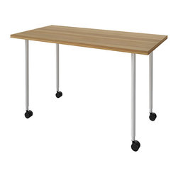 Turnstone - Turnstone Table with Casters - The Turnstone Table with Casters offers functional, mobile surface area for any office setting. The Turnstone Table with Casters can serve as extra work space, a printer table, pretty much any role you might need. Casters provide mobility, allowing you to take your work and table with you.