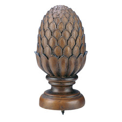 None - Walnut 8-foot Wood Rod with Pineapple Finial - Curtain hardware set includes everything you need to dress your window beautifullyAccentuate any window in your home with this stylish drapery rodNo matter the window treatment you are planning to hang,this hardware is the finishing touch