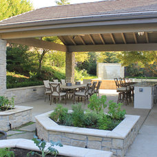 Traditional Patio by Atmosphere Design Group