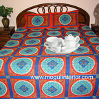 Indian Bedding Sets - Our Indian inspired bedspreads bedding enhance your decor with classic elegance