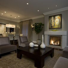 Contemporary Living Room by Environs Development