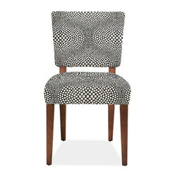 Georgia Chair - I just love this fun pattern to freshen up a more traditional dining table or to work with a more contemporary table.