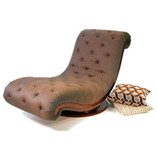 Traditional Indoor Chaise Lounge Chairs by Colleen's Classic Consignment