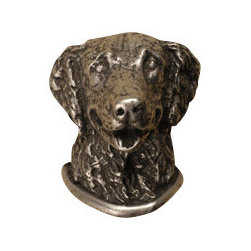 Anne at Home Hardware - Golden Retriever Cabinet Hardware - What a fetching way to customize your kitchen. This impressive pewter retriever — available as a cabinet knob or a drawer pull — is crafted in the USA to help you celebrate your favorite breed while adding distinction to your decor.