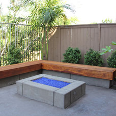 Contemporary Patio by Promised Path Landscaping Inc