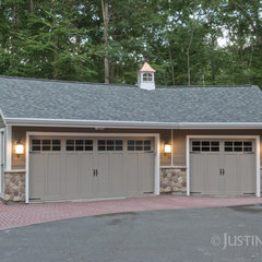 traditional garage and shed by Clemleddy Construction