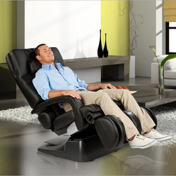 AcuTouch® HT-7450 Zero-Gravity Massage Chair by Human Touch - The Human Touch HT-7450 AcuTouch™ Zero Gravity Massage Chair gives you superior style and luxury in one great chair. It offers a combination of Human Touch Robotic Massage Technology®  and an exclusive zero-gravity design that makes your body feel suspended in comfort. Enjoy this ADEX Silver award winner as one of the best massage chairs on the market.