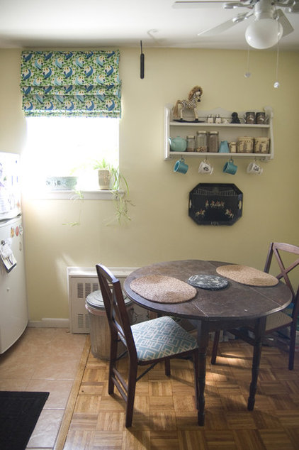 eclectic kitchen by Lauren Gries