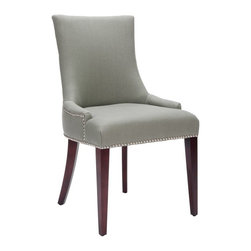 Safavieh - Safavieh Becca Side Chair X-D2054RCM - The Becca chair features a dressing elegance without being stuffy, so it's a perfect companion for country homes, city apartments or formal manors.