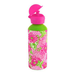 """Lilly Pulitzer"" Water Bottle - Stop wasting plastic on water bottles and perk things up with this fun Lilly Pulitzer print water bottle. You'll never want a boring old plastic one again!"