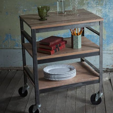 contemporary bar carts by West Elm
