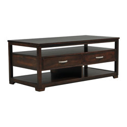 Carmello Cocktail Table with Casters - Living Spaces