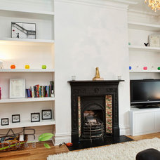 Wall Shelves by Bespoke Fitted Furniture London | Avar Furniture