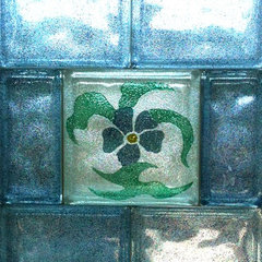 mediterranean artwork by DECORGLASSBLOCKS