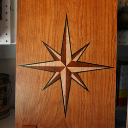 Painted Furniture Finishes & Faux Wood - Wood Samples - Faux Inlay/Marquetry