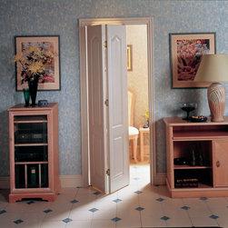 Bifold Doors - 2 Panel Archtop Bifold by HomeStory Doors