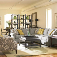 Eclectic Sectional Sofas by HALIFAX FINE FURNISHINGS