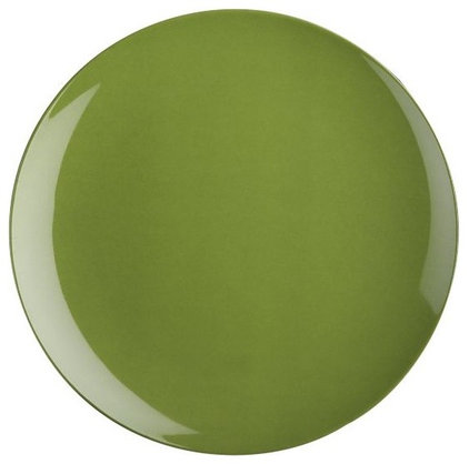 Contemporary Dinner Plates by Crate&Barrel
