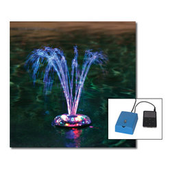 Blue Wave - Blue Wave Dancing Water Light Fountain Show - Pool accessories 1