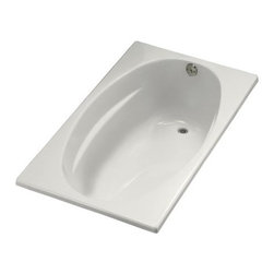 KOHLER - KOHLER K-1142-R-0 ProFlex 6036 Bath with Flange and Right-Hand Drain - KOHLER K-1142-R-0 ProFlex 6036 Bath with Flange and Right-Hand Drain in White