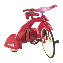 Airflow Collectibles - Sky King Tricycles for Kids Red - Sky King Tricycles for Kids is a reproduction of a 1936 Sky King Tricycle