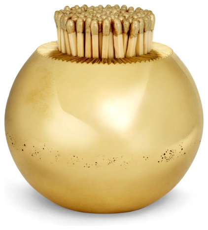 Contemporary Fireplace Accessories by AERIN