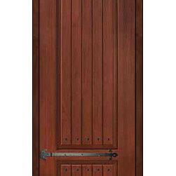 """Front Single Door 96 Fiberglass Rustic 2 Panel V-Grooved Solid - SKU#SBC30962PPRCFSBrandGlassCraftDoor TypeExteriorManufacturer CollectionSolid Panel Entry DoorsDoor ModelDoor MaterialFiberglassWoodgrainVeneerPrice1330Door Size Options  +$percent  +$percentCore TypeDoor StyleDoor Lite StyleDoor Panel Style2 Panel , V-GroovedHome Style MatchingRusticDoor ConstructionPrehanging OptionsSlab , PrehungPrehung ConfigurationSingle DoorDoor Thickness (Inches)1.75Glass Thickness (Inches)Glass TypeGlass CamingGlass FeaturesGlass StyleGlass TextureGlass ObscurityDoor FeaturesDoor ApprovalsEnergy Star , TCEQ , Wind-load Rated , AMDDoor FinishesDoor AccessoriesClavos , StrapsWeight (lbs)295.2Crating Size25"""" (w)x 108"""" (l)x 52"""" (h)Lead TimeSlab Doors: 7 Business DaysPrehung:14 Business DaysPrefinished, PreHung:21 Business DaysWarrantyFive (5) years limited warranty for the Fiberglass FinishThree (3) years limited warranty for MasterGrain Door Panel"""